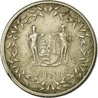Monnaie, Surinam, 25 Cents, 1962, TB+, Copper-nickel, KM:14 - Suriname 1975 - ...