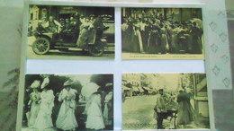 75LOTDE 16 CARTES DE PARIS REPRO N° DE CASIER 31 - Postcards