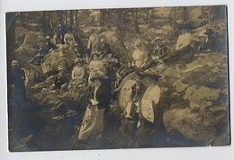 Carte-photo FONTAINEBLEAU: Caverne Des Brigands - Fontainebleau