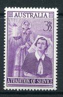 Australia 1955 Nursing Commemoration MNH (SG 287) - 1952-65 Elizabeth II : Pre-Decimals