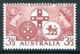 Australia 1956 Centenary Of Responsible Government HM (SG 289) - 1952-65 Elizabeth II : Pre-Decimals