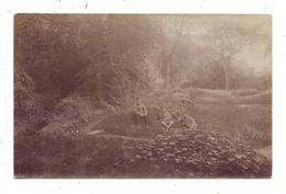 F 59500 DOUAI, Photo-AK, Casinogarten, 1917 - Douai