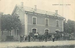 32 GIMONT  La Gare    2scans - Frankrijk