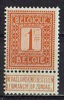Belgien 1912 // Mi. 89 ** - 1912 Pellens