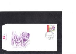 Buzin 3141 Fleur - Crocus Vernus - 1985-.. Oiseaux (Buzin)