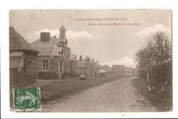 76 --- BEAUVOIR - EN - LYONS --- Ecole, Mairie,Rte De Gournay --- ( à Voir !!!)  CH 59 - Peronne