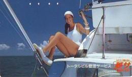 Télécarte Japon * EROTIQUE *   (6528)  *  EROTIC PHONECARD JAPAN * TK * BATHCLOTHES * FEMME SEXY LADY LINGERIE - Mode