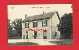 18 Cher  CHAROST La Gare - Autres Communes