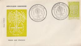 Enveloppe  FDC  1er  Jour   GABON  Eradication  Du  Paludisme  Malaria   1962 - Disease