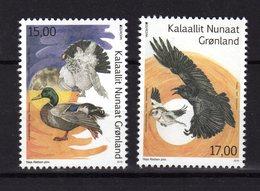 GROENLAND Greenland 2019 Oiseaux Birds Duck Europa 2 Val.  MNH ** - Grönland