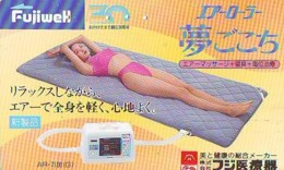 Télécarte Japon * EROTIQUE (6561)   *  EROTIC PHONECARD JAPAN * TK * BATHCLOTHES * FEMME SEXY LADY LINGERIE - Fashion