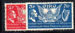 APR1638 - IRLANDA 1939 , Unificato N. 75/76  Usato  (2380A) - 1937-1949 Éire