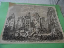 PARIS - Les Démolitions De La Cité, Pour La Reconstruction De L'HOTEL-DIEU - Alte Papiere