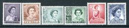 Australia 1959-63 QEII Definitives Set HM (SG 308-314) - Mint Stamps