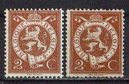 Belgien 1912 // Mi. 90 * 2x - 1912 Pellens