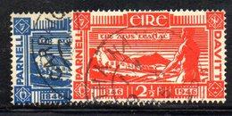 APR1643 - IRLANDA 1946 , Unificato N. 104/105  Usata  (2380A) - 1937-1949 Éire