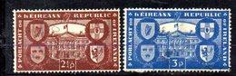 APR1644 - IRLANDA 1949 , Unificato N. 110/111  Usata  (2380A) - 1949-... Repubblica D'Irlanda