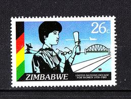 Zimbabwe - 1985. Ingegnere Di Ponti E Strade. Bridge And Road Engineer.MNH - Professioni