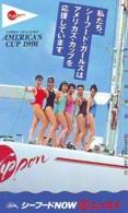 Télécarte Japon * EROTIQUE (6579) *  EROTIC PHONECARD JAPAN * TK * BATHCLOTHES * FEMME SEXY LADY LINGERIE - Fashion