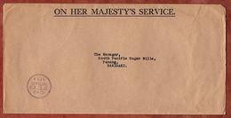 Dienstbrief, Porto Bezahlt, Rakiraki 1969 (76061) - Fiji (1970-...)