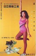 Télécarte Japon * EROTIQUE (6591)  *  EROTIC PHONECARD JAPAN * TK * BATHCLOTHES * FEMME SEXY LADY LINGERIE - Mode