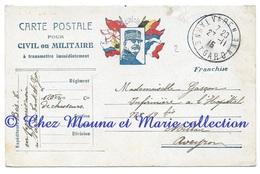 WWI - BES 120 EME BCA VAREN - GASCON INFIRMIERE HOPITAL N° 19 BIS MILLAU - CPA MILITAIRE - Guerra 1914-18