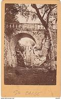 PHOTO CDV 19 EME BRETAGNE SAINTE BARBE LE FAOUET CABINET CARLIERY ( FERDINAND CARLIER ) - Anciennes (Av. 1900)