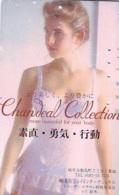 Télécarte Japon * EROTIQUE (6600)  CHANDEAL  *  EROTIC PHONECARD JAPAN * TK * BATHCLOTHES * FEMME SEXY LADY LINGERIE - Fashion