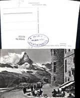 621531,Foto Ak Zermatt Matterhorn Kulm-Hotel Gornergrat - VS Wallis