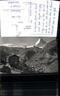 621529,Foto Ak Zermatt Matterhorn Totale - VS Wallis