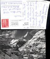 621528,Foto Ak Zermatt Matterhorn Winteransicht - VS Wallis