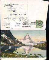 621525,Zermatt Ryffelsee U. Matterhorn - VS Wallis