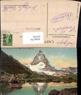 621524,Zermatt Lao De Ryffel Et Le Mont Cervin Matterhorn - VS Wallis