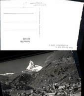 621523,Foto Ak Zermatt Matterhorn Ansicht - VS Wallis