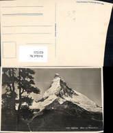 621521,Zermatt Riffelalp Blick Auf Matterhorn - VS Wallis