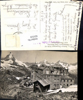 621519,Foto Ak Zermatt Matterhorn Hotel Station Gornergrat Dent Blance U. Obergabelho - VS Wallis