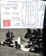 621513,Foto Ak Rifelalp Ob Zermatt Matterhorn - VS Wallis
