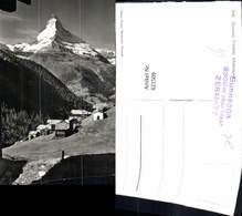 621509,Foto Ak Zermatt Matterhorn Findeln Sunnegga - VS Wallis