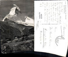 621504,Foto Ak Winkelmatten B. Zermatt Matterhorn - VS Wallis