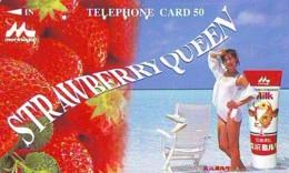 Télécarte Japon * EROTIQUE (6611)   *  EROTIC PHONECARD JAPAN * TK * BATHCLOTHES * FEMME SEXY LADY LINGERIE - Fashion