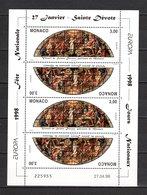 MONACO N° 2152  EN FEUILLET  NEUF SANS CHARNIERE COTE 6.80€  EUROPA - Monaco