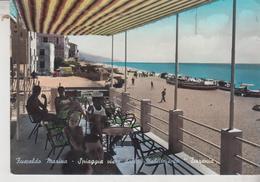 Fuscaldo Marina Cosenza Spiaggia Vista Dallo Stabilimento Tirrenia - Cosenza
