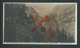 Asie- Syrie. Bagdadbahn. La Corniche 1913. Photo Carte, Document. Recto/verso - Syrie