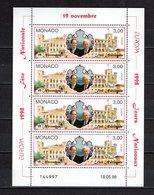 MONACO N° 2153  EN FEUILLET  NEUF SANS CHARNIERE COTE 6.40€  EUROPA - Monaco