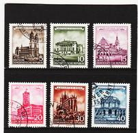 YZO655 DDR 1955 MICHL 491/96 Gestempelt ZÄHNUNG SIEHE ABBILDUNG - [6] República Democrática
