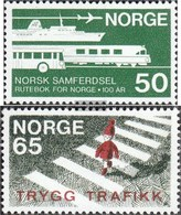 Norway 581,582 (complete Issue) Unmounted Mint / Never Hinged 1969 Kursbuch, Security - Norway