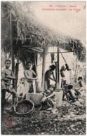 TONKIN - HANOI - Fabrication Du Papier - Le Pilage - Vietnam