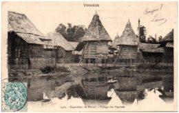 TONKIN - Exposition De HANOI - Village Des Négritos - Vietnam