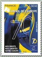 France 2019 Nos Droits, Nos Libertés, Notre Europe MNH / Neuf** - France