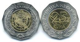 Croatia, 25 Kuna, 1997, UNO - Croatia